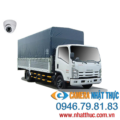 Trọn bộ 5 camera trên xe tải