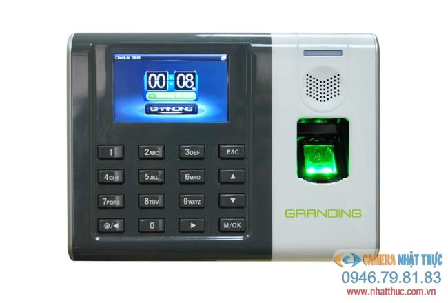 Máy chấm công Vân Tay+thẻ thế hệ mới  GRANDING GT-100