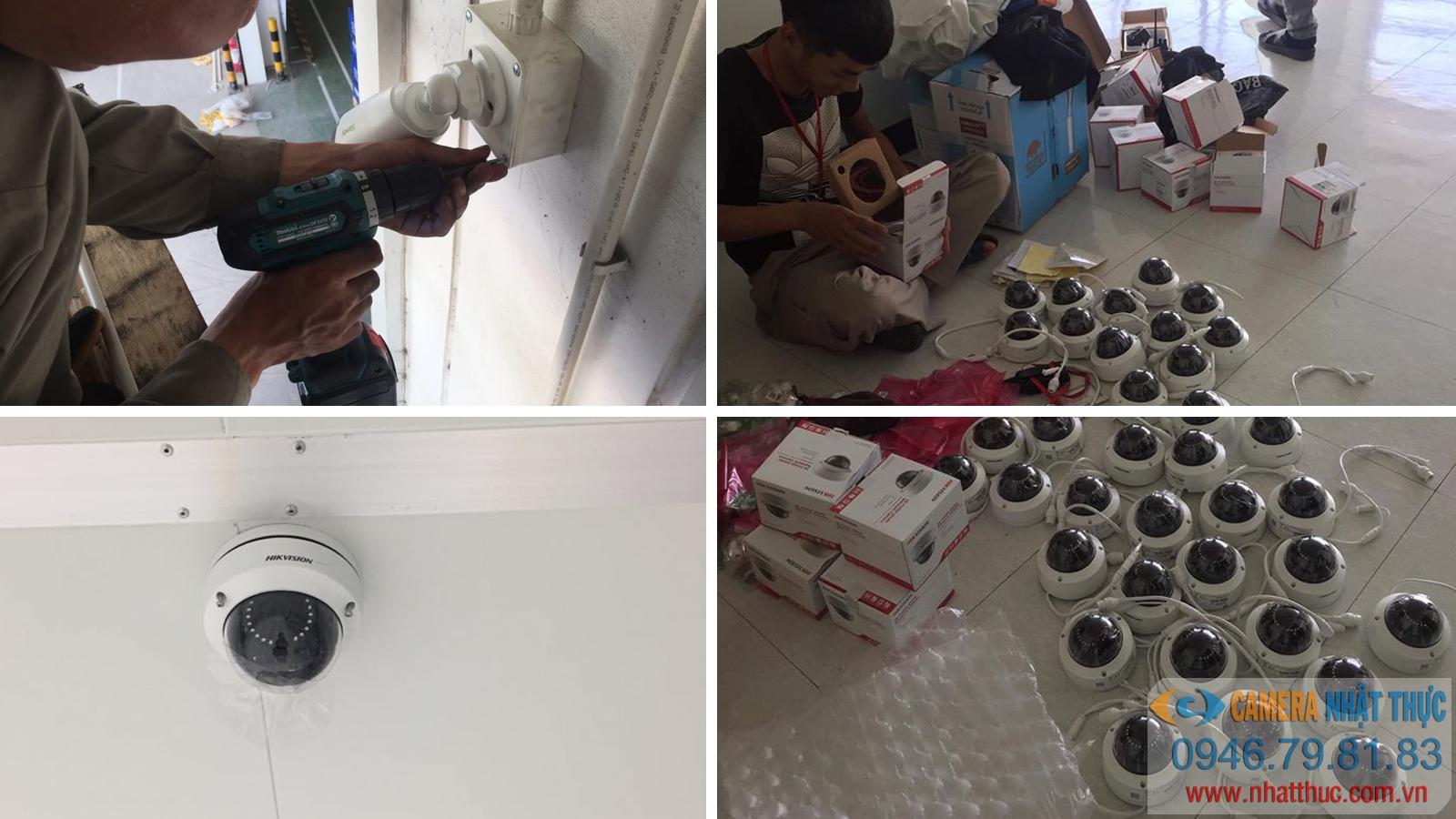 Lắp đặt camera cho công ty Đông Đô Electronics trong Tràng Duệ