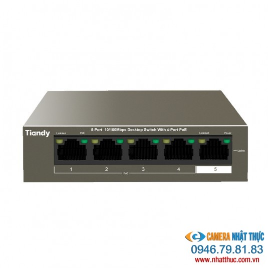 Switch Tiandy TC-FS104-E