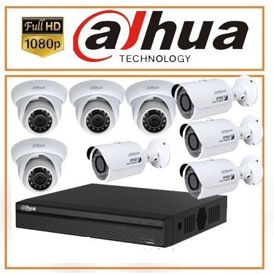Trọn bộ 07 camera Dahua 2.0MP Full HD copy