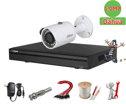 Trọn bộ 01 camera Dahua 2.0MP Full HD