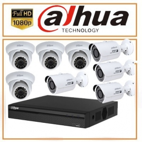Trọn bộ 08 camera Dahua 2.0MP Full HD